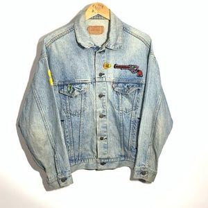 Vintage 80s Levi's Denim Jacket Guns N' Roses